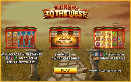 play slot journey to the west